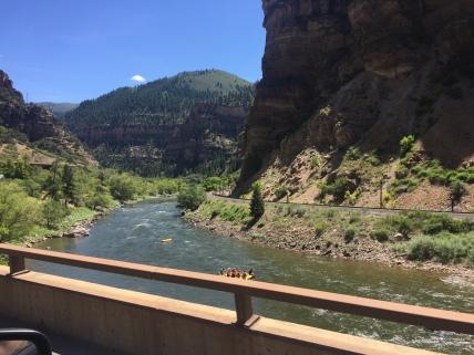 Colorado River along I-70